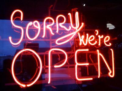 As sorry as